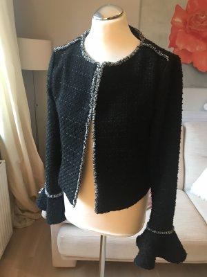 Jacke von Vero Moda Gr M schwarz weiß