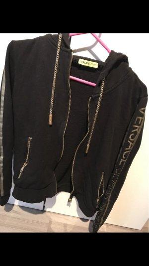 Versace Jeans Giacca con cappuccio nero-oro