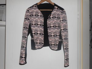 Jacke von Vila in Größe M, gemustert (rosa/schwarz)