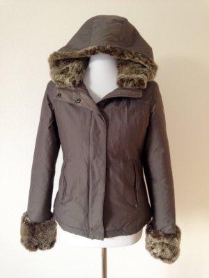 Woolrich Winter Jacket grey brown