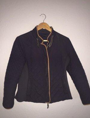 Zara Short Jacket dark blue-beige
