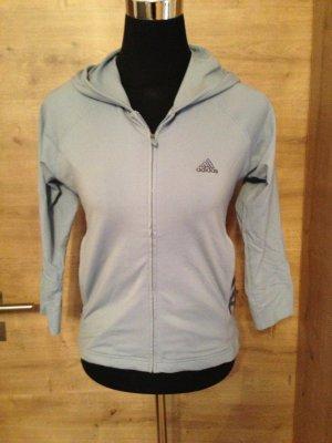 Jacke Weste hellblau Adidas gr 36