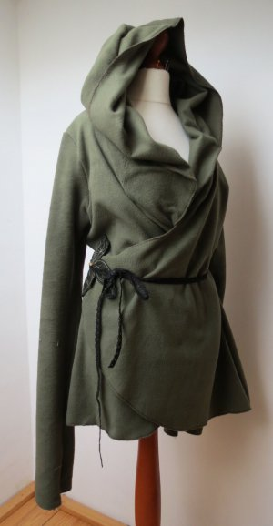 Wraparound Jacket forest green-dark green