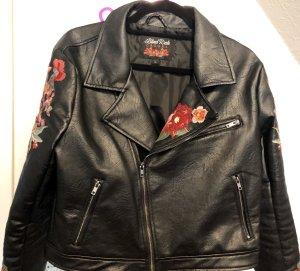 Blind Date Biker Jacket black leather