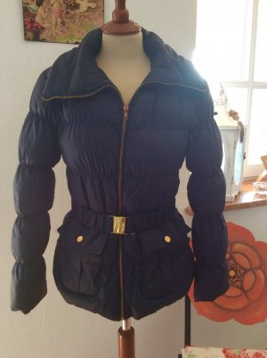 Jacke / Winterjacke Gr. 36 / S Denim Co. Dunkelblau wattiert