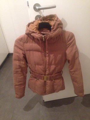 Jacke, Winterjacke, Zara, braun, Gold, XS, Top!