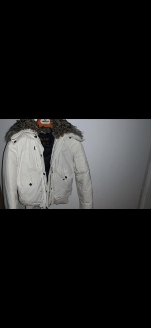 Woolrich Short Jacket white