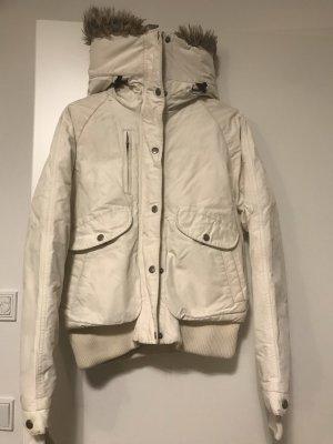 Woolrich Veste d'hiver blanc cassé-crème