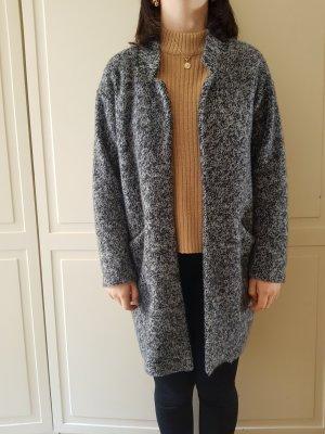 Zara Long Jacket white-black