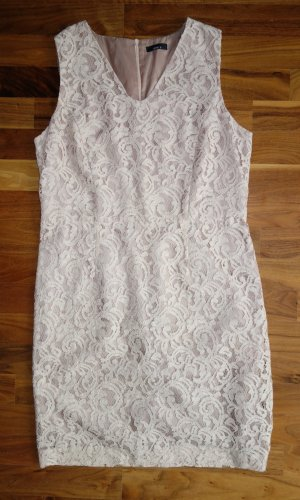 Jake*s Lace Dress nude viscose