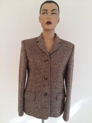 Nicole Farhi Blazer in lana marrone chiaro Lana merino
