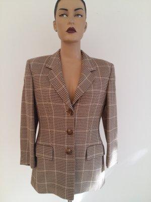 Escada Blazer in lana marrone chiaro Lana vergine