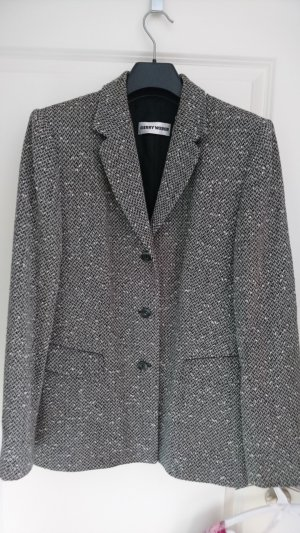 Gerry Weber Wool Blazer silver-colored-grey