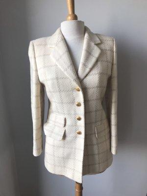 Jacket Blazer Woll Long Blazer Luxus im Chanel Stil