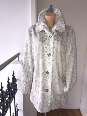 Jacket & Coat Veste en fausse fourrure multicolore fourrure artificielle