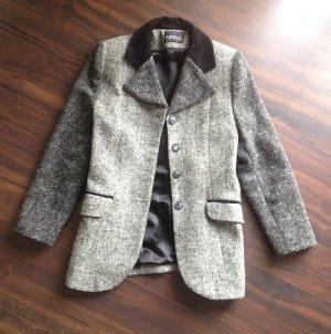Blazer en laine gris