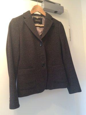 Jacket Klassiker mit Leder Applikationen