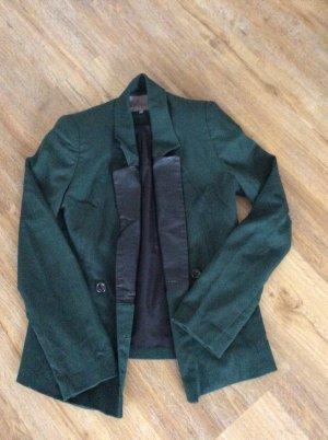 Jacket mit Lederoptik