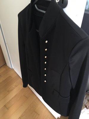 Jacket schwarz mit goldfarbenen Knopfreihen
