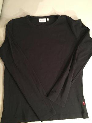 JACKPOT Basic Shirt, langarm, schwarz, Gr. 4 (XL), wie NEU