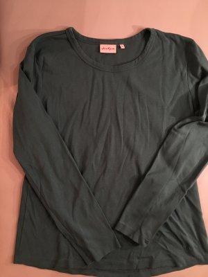 JACKPOT Basic Shirt, T-Shirt, Langarm, dunkelgrün, Gr. XL, wie NEU