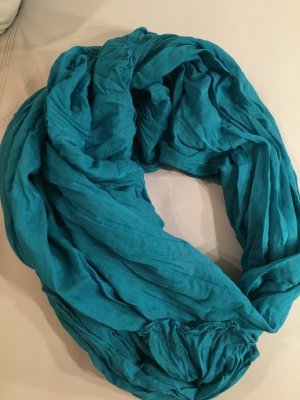 Jackpot Summer Scarf cadet blue cotton