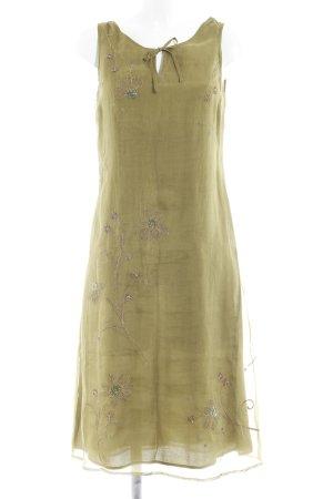 Jackpot Blusenkleid olivgrün Blumenmuster Casual-Look