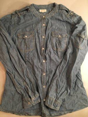 JACKPOT Hemdbluse, Hemd mit Druckknöpfen, Jeans, Gr. 44, NEU und nie getragen!