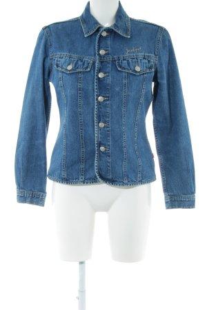 Jackpot Jeansjacke blau Casual-Look