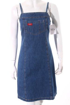 Jackpot Jeanskleid dunkelblau Jeans-Optik