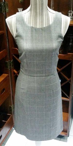 Jackpot Kleid Etuikleid Cocktailkleid 32 34 XS grau gestreift Wolle