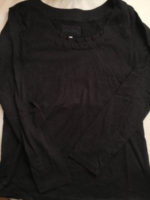 JACKPOT schwarzes Shirt mit schönem Ausschnitt, Gr. L, wie NEU