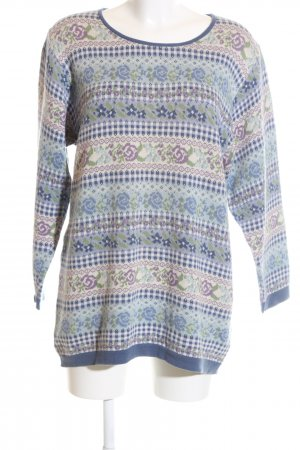 Jackpot Strickpullover Allover-Druck Casual-Look