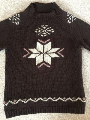 Jackpot super warmer Wollpulli im Norweger Style neuwertig