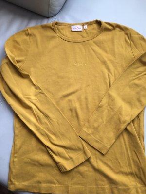 JACKPOT T-Shirt, langarm, gelb, senf, Gr. 4, L, NEU und ungetragen