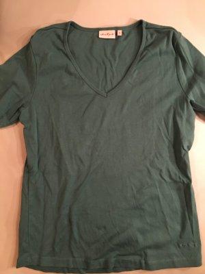 JACKPOT V-Ausschnitt Shirt, dunkelgrün, Gr. XL, NEU und ungetragen