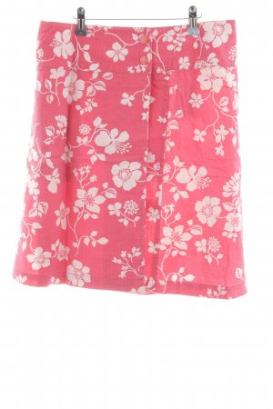 Jackpot Wraparound Skirt pink-white allover print casual look