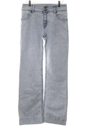 Jacky-O Boot Cut Jeans hellgrau Farbverlauf Casual-Look