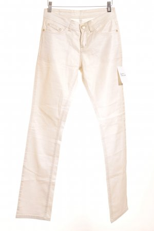 Jacky-O Skinny Jeans creme klassischer Stil