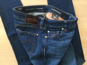 Jacob Cöhen Jeans W 27 dunkelblau TOP!