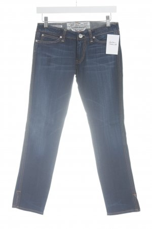 Jacob Cohen 7/8 Jeans dunkelblau Washed-Optik