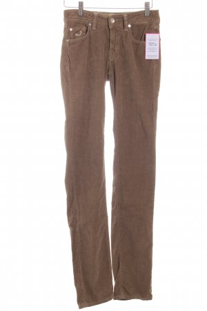 Jacob Cohen Cordhose hellbraun Street-Fashion-Look