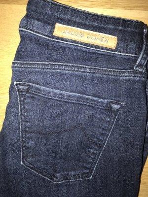 Jacob Cohen Jeans coupe-droite bleu foncé-bleu