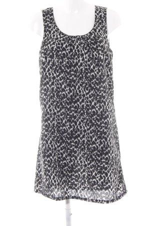 Jacqueline de Yong A-Linien Kleid schwarz Animalmuster Animal-Look