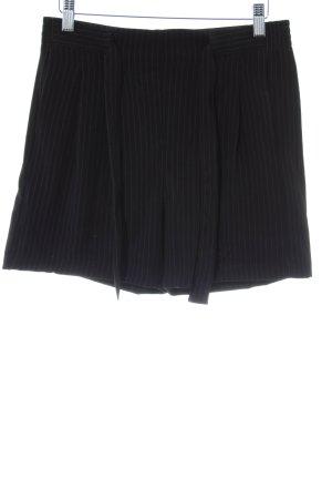 Jacqueline de Yong Bermuda schwarz-weiß Nadelstreifen Elegant