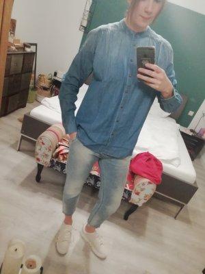 Jacqueline De Yong Bluse Hemd Jeans Denim Jeanshemd Jeansbluse
