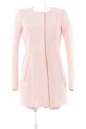 Jacqueline de Yong Kurzmantel rosé schlichter Stil