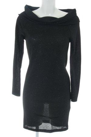 Jacqueline de Yong Langarmkleid schwarz Casual-Look
