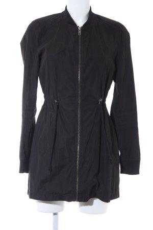 Jacqueline de Yong Long Jacket black casual look