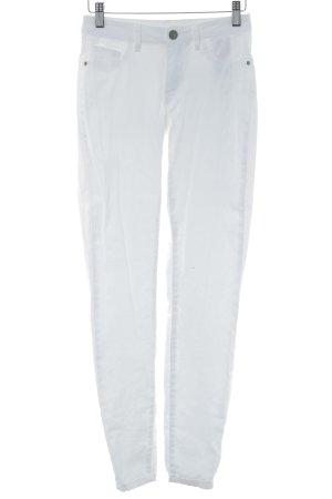 Jacqueline de Yong Pantalone a sigaretta bianco stile casual